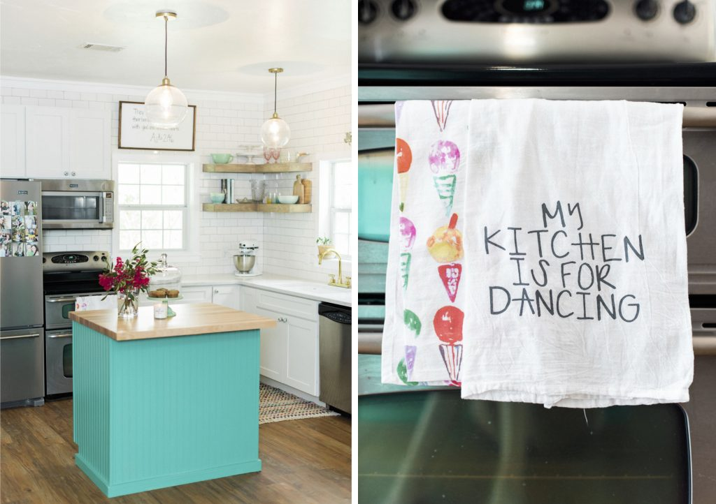 bright modern farmhouse kitchen_tamaramenges.com/blog