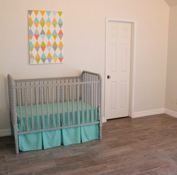 Nursery Remodel Tiling Project with Lowe's