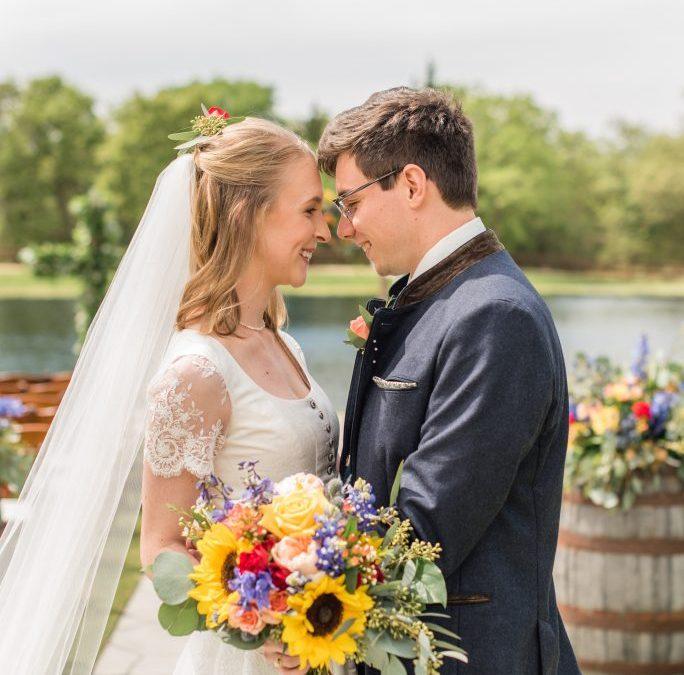 Vanessa and Julius' International Wedding Day