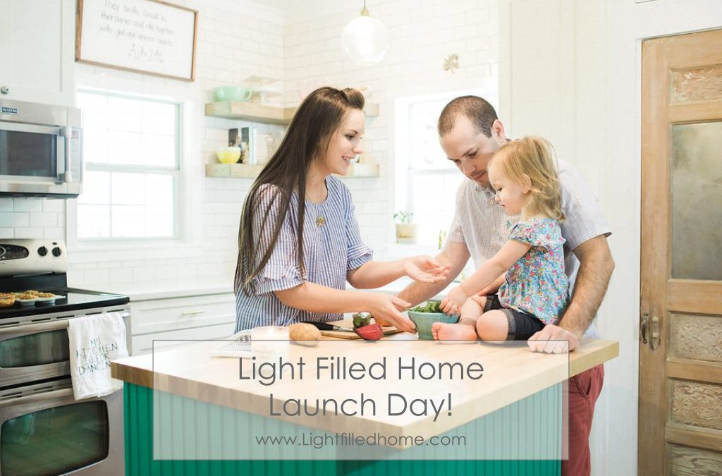 Light Filled Home Launch Day!